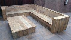 Outdoor Furniture Bench, Outdoor Couch, Garden Furniture, Outdoor Decor, Pallet Seating, Backyard Seating, Garden Seating, Diy Pallet Couch, Diy Sofa