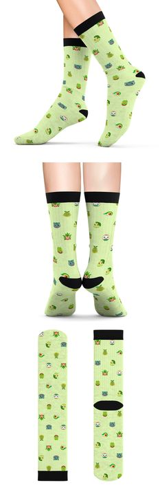 #pokemon #socks #nintendo #grass #cute #bulbasuar #anime #videogame #trinketgeek