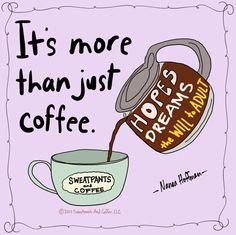 #coffee #coffeequotes I love you Coffee :D