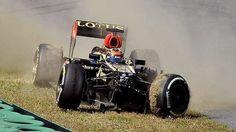 Lewis Hamilton fastest as Kimi Raikkonen crashes in Korean Grand Prix practice ... - Herald Sun
