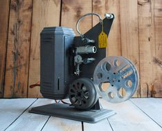 Excel+P16+Film+Projector+Classic+16mm+Home+Movie+by+BingoBox,+$70.00