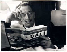 Salvador Dali reading his biography, 6 May, A photograph of the Spanish artist Salvador Dali , taken by Terry Fincher for the Daily Herald newspaper. Dali is reading Fleur Cowles' book 'The. Get premium, high resolution news photos at Getty Images Alberto Giacometti, Figueras, People Reading, Salvador Dali Art, Jean Arp, Rene Magritte, Max Ernst, Karl Marx, Charles Darwin
