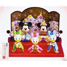 NEW Mickey Mouse Minnie Mouse Doll Limited in Tokyo Disney Resort hina Doll #Disney