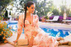 Maxi floral dress Moda - Crímenes de la Moda