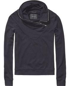 Biker Sweater Top | Scotch & Soda