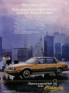 Car Advertising, Ads, Oldsmobile Cutlass, Car Photos, State Art, Classic Cars, Automobile, Engineering, Technology
