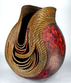 I have a gourd and want to do something unusual with it.  came across these gourd pics