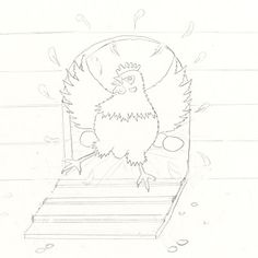 A Sketch a Day Day 40 - Chickens Will finish later as it is going to be one of the illustrations in my book Sketch A Day, Doodle Sketch, My Books, Doodles, Sketches, Illustrations, Creative, Artist, Blog