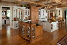 """Old Wood Manor,"" Ada, Mich. of Winner of the 2012 Platinum BALA for One-of-a-Kind Home over 6501 sq ft. Interior Design Kitchen, Kitchen Decor, Interior Decorating, Kitchen Ideas, Kitchen Designs, Kitchen Planning, Kitchen Stuff, Kitchen Inspiration, Moulding And Millwork"