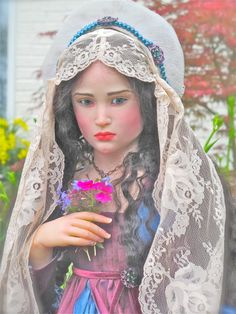 """JULIET"" One of a kind doll by Jamie Williamson"