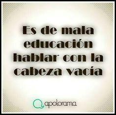 Mala educacion