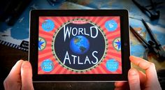New atlas app invites children to take the #world for a spin #edtech