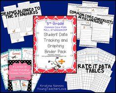 Young Teacher Love: A 'Lil Data Binder Lovin'