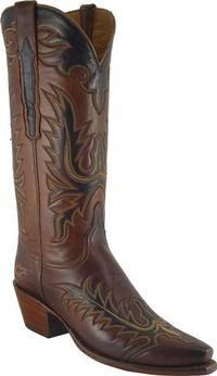 Lucchese Classics - L4625 - Your Choice of Toe and Heel, 2 1/2inch Scallop, Mayela Raya Vamp, Mayela Quarter with Collar, CJ Pullstraps with Overlay $869