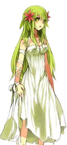 Pokemon Shaymin as an anime girl Anime Plus, Anime W, Anime Kawaii, I Love Anime, Anime Chibi, Anime Yugioh, Anime Pokemon, Gijinka Pokemon, Pokemon Cosplay