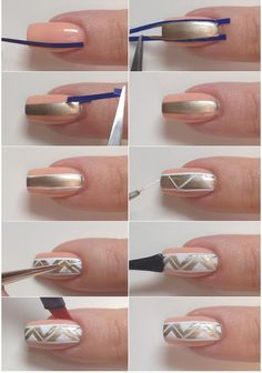 Longer-Looking Nails With This Nail Art | Beauty Zone