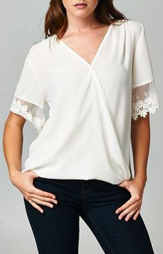 Alaya Top in Ivory