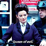 """87 I think...OCD""  Missy (The Master): ""91...Queen of Evil"" -ROFL!"
