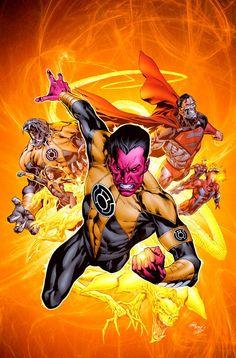 Sinestro corps  (yellow Lantern corps)