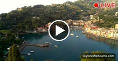 Beautiful live images of #Portofino - #Liguria, one of the most famous destination of #Italy. #Travel #Italia