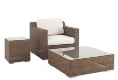 Malaga Wicker Lounge Set from Westminster Teak Furniture Teak Furniture, Lounge Furniture, Outdoor Furniture, Westminster Teak, Wicker Lounge Chair, Outdoor Chairs, Outdoor Decor, Mold And Mildew, Rattan
