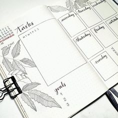 Another weekly idea for February, has no inspiration for flowers right now so the leaves will fill the margins