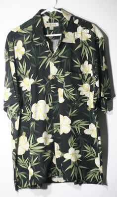 Tommy Bahama Hawaiian Shirt on eBay  #TommyBahama #Silk #HawaiianShirt #Alohashirt #Hawaiian #Floral