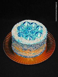 Bolo azulão com cheesecake