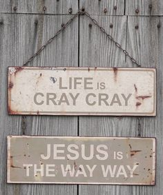 Look at this 'Cray Cray' Wall Sign on #zulily today!