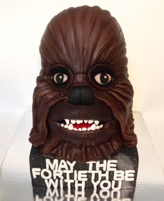 Chewbacca, Deadpool, Lion Sculpture, Statue, Superhero, Birthday, Fictional Characters, Cakes, Birthdays