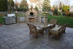 stamped concrete patio designs | decorative stamped concrete provides an updated, stylish design ...
