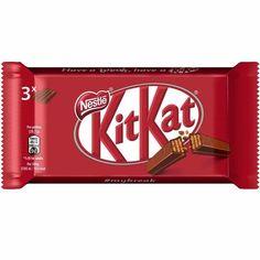 € - KitKat Classic á = (Anzeige) Kit Kat Recipes, Candy Recipes, Nestle Chocolate, Chocolate Lovers, Chocolates, Cadbury Flake, Food Png, Kit Kat Bars, Prom Eye Makeup