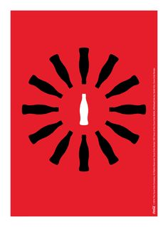 Kiss The Past Hello. Coca-Cola Design: 100 Years of the Coca-Cola Bottle. by: Sarah Kim, Coca-Cola Design Coca Cola Bottles, Pepsi Cola, Coke, World Of Coca Cola, Image Icon, Ads Creative, Poster Ads, Advertising Photography, Poster
