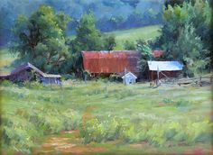 Lisa Mitchell, oil, 12 x 16. | See more of Lisa'a work at: http://www.southstreetartgallery.com/index.html and  http://lisamitchellstudio.com