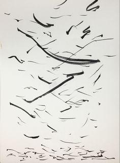[떨어지는 것] 흩어지며 떨어져 바닥에 쌓일 때의 모습을 표현했다. Arabic Calligraphy, Art, Art Background, Kunst, Arabic Calligraphy Art, Performing Arts, Art Education Resources, Artworks