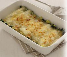 Cannelloni di patate e spinaci