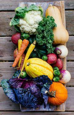 Fall is Here -- Seasonal Veggies You Need-to-Know #fallrecipes #fallveggies #vegetables
