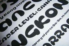 Cusco, Typeface by Rodrigo Araya Salas, via Behance Fonts, Behance, Type, Design, Designer Fonts, Types Of Font Styles, Design Comics, Letters