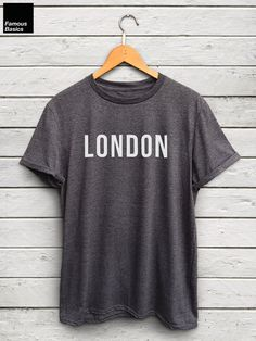 London shirt  i love london tshirts london tops by FamousBasics