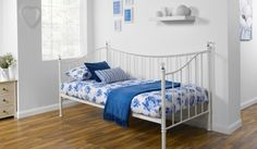 Iris Bedstead 90cm Pearl White Day Bed