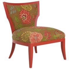 Higgins chair in Amelia Paprika by Larren Grey via Joss & Main