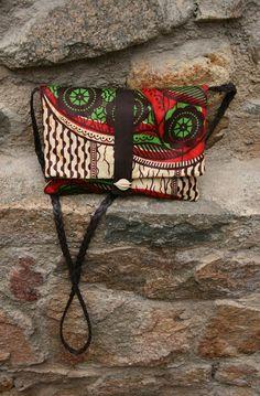 La tricoteca: Bolso de verano con telas africanas