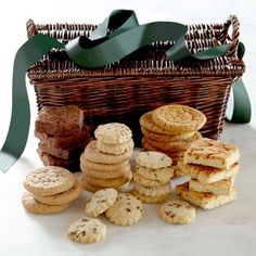 Cookie and Brownie Gift Basket #williamssonoma