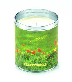 Springtime Candle