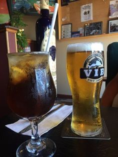 Long Island Iced Tea and Draught on tap, Gary's Bistro ,115 West Second,Qualicum Beach