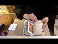 Easy Recycled Junk Journal Signature - YouTube