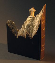 Guy Laramee - Landscapes Carved out of Books