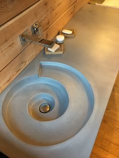 We will. We will definitely do pored concrete counters in bathroom and kitchen. This is a cool design We will definitely do pored concrete counters in bathroom and kitchen. This is a cool design Pinterest Bathroom, Dream Bathrooms, White Bathrooms, Luxury Bathrooms, Master Bathrooms, Master Baths, Bathroom Interior, Design Bathroom, Bathroom Ideas