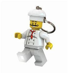 Chaveiro Lego com Luz Chef de Cozinha - O Segredo do Vitório #lego