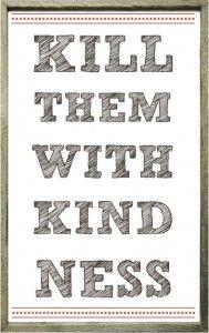 values for children, kindess